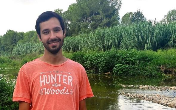 Àlex Benitez de l' Associació Aurora