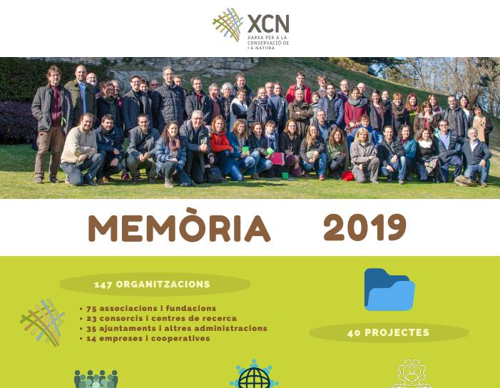 Memòria d'activitats i resultats de la XCN 2019